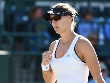 Mirjana Lucic-Baroni, 35, is the oldest player remaining in the tournament. Image courtesy: Twitter/@VolvoCarOpen