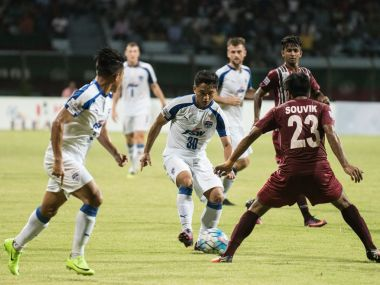 Mohun Bagan beat Bengaluru FC to boost their title chances. Twitter/ @BengaluruFC