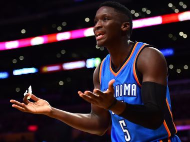 File picture of Victor Oladipo of the Oklahoma City Thunder. Getty Images