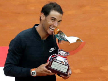 Rafael Nadal registered an easy win over Albert-Vinolas to win record-breaking 10th title. AFP