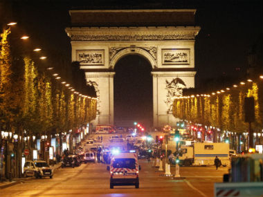 One policeman was killed in an attack by a terror suspect on in Paris. AP