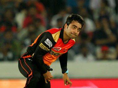 Rashid Khan won the man of the match award in the match against Gujarat Lions for his figures of 3/19. Sportzpics