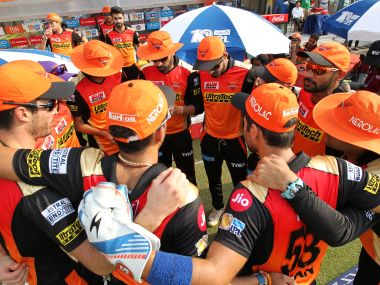 Team Sunrisers Hyderabad during the IPL. Sportzpics