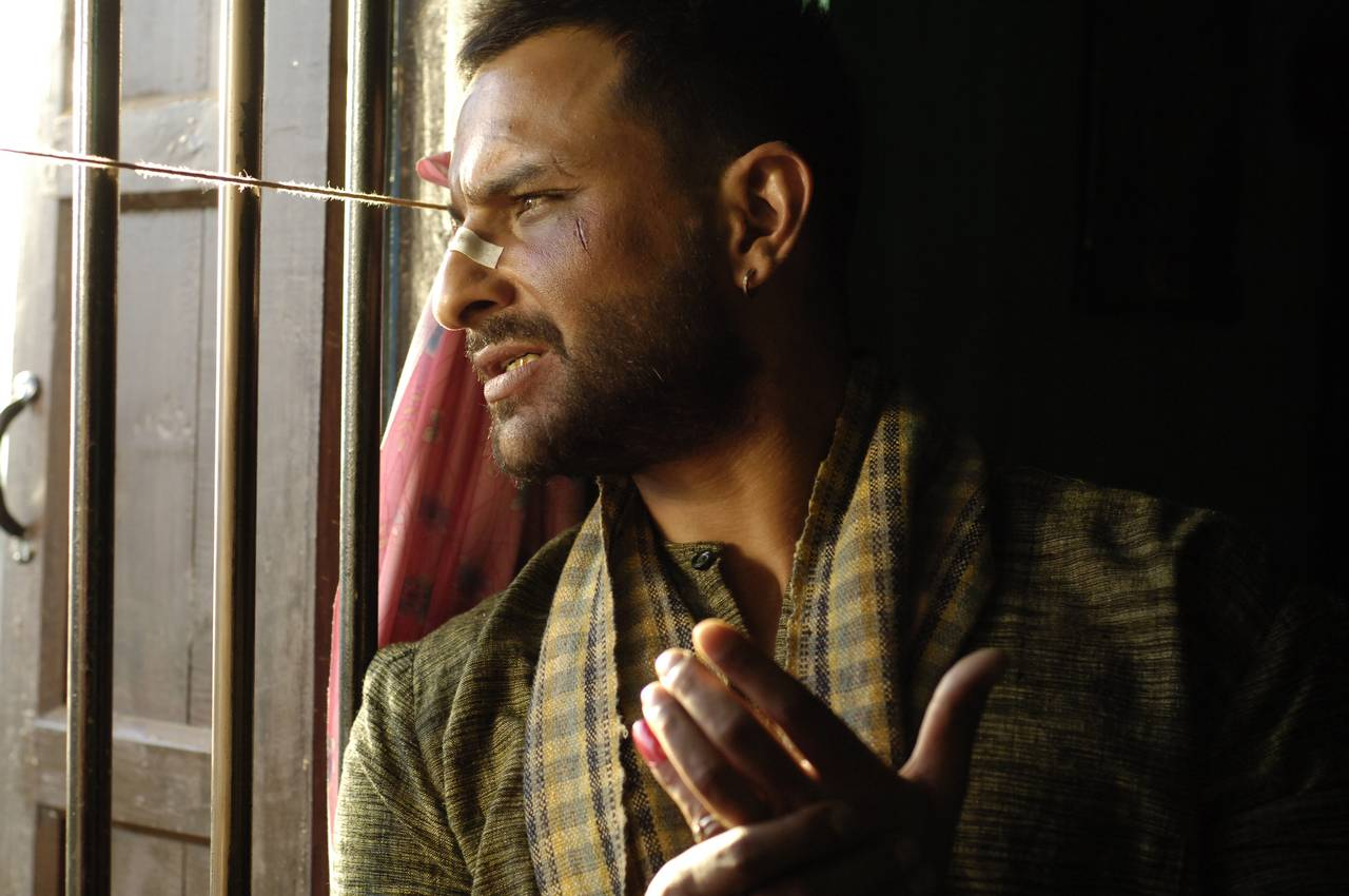 Saif Ali Khan in a still from Omkara. YouTube