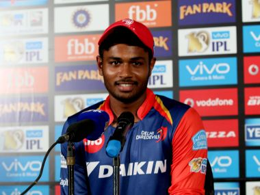 Sanju Samson scored a brilliant century against RPS. SportzPics