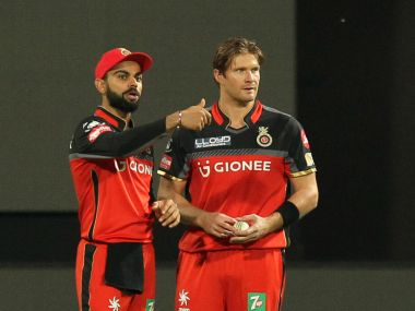 Shane Watson deviated from RCB's gameplan and was made to pay for it. SportzPics/IPL