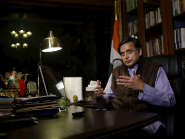 Congress MP Shashii Tharoor. Reuters