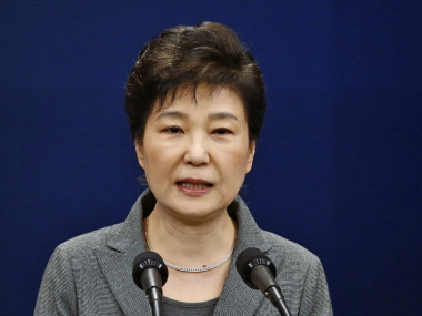 File photo of South Korean President Park Geun-hye. AP