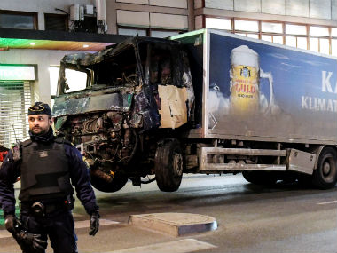 Four people were killed in the Stockholm attack. Reuters