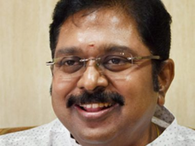 Chennai: File picture of AIADMK deputy general secretary T.T.V. Dinakaran who will contest the by-election to the R.K. Nagar constituency in Chennai on April 12. PTI Photo(PTI3_15_2017_000305B)