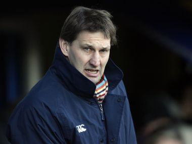 Former Arsenal captain Tony Adams made a losing start to his stint as Granada manager. AFP