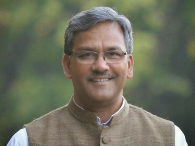Trivendra Singh Rawat. Image courtesy: Twitter