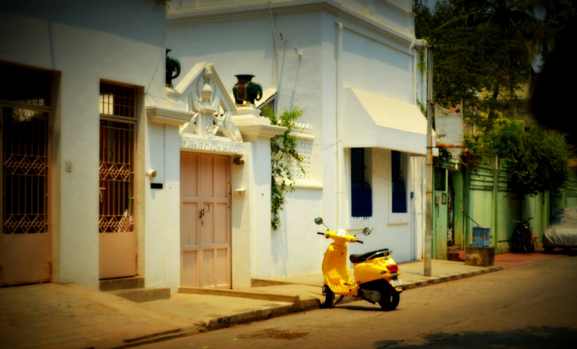 White Town in Pondicherry