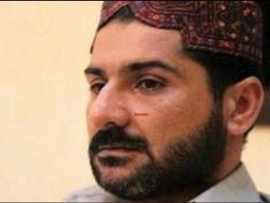 Pakistan national and underworld don Uzair Baloch. Image courtesy: News18/TV grab