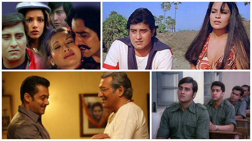 From Lahu ke Do Rang to Qurbani and Dabanng, Vinod Khanna turned in some memorable performances on screen