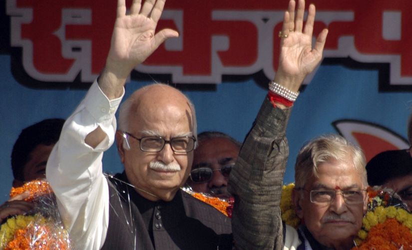 A file photo of LK Advani and Murli Manohar Joshi. Reuters