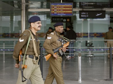 File image of security personnel at Delhi airport. Reuters