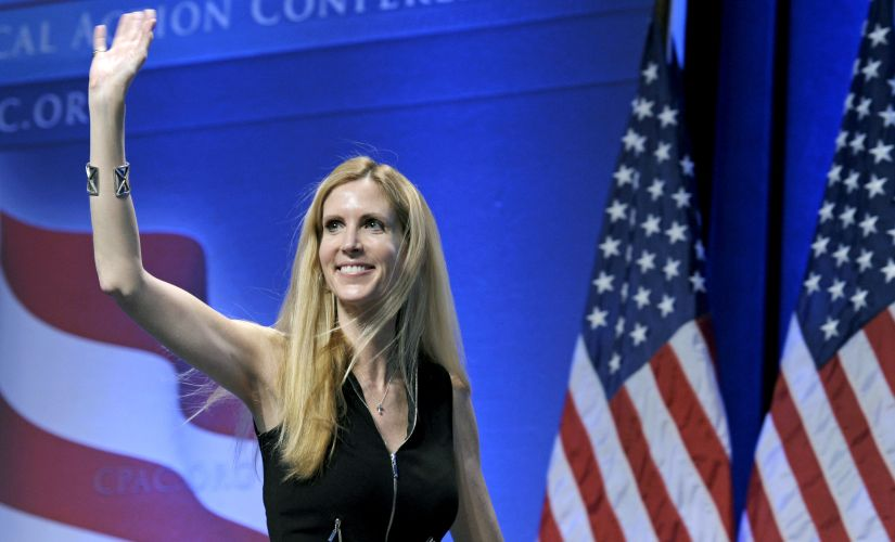 Political commentator Ann Coulter. AP