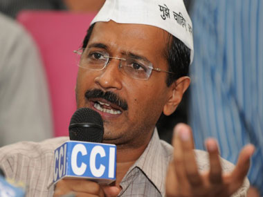 A file photo of Delhi Chief Minister Arvind Kejriwal. AFP
