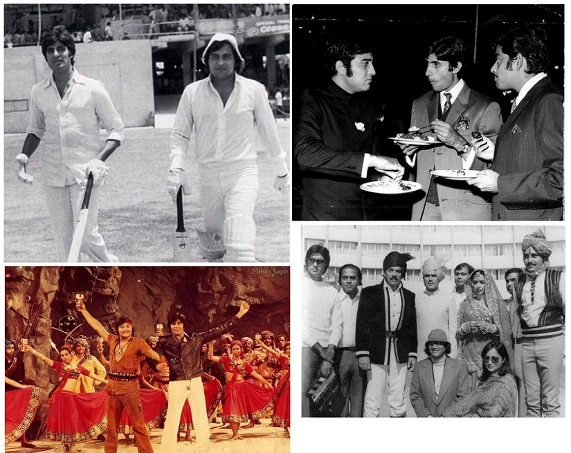 Twitter users shared throwback photos of Amitabh Bachchan, Vinod Khanna and their other contemporaries like Shatrughan SInha, Rajesh Khanna all through Thursday, 27 April
