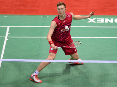 File image of Viktor Axelsen. AFP