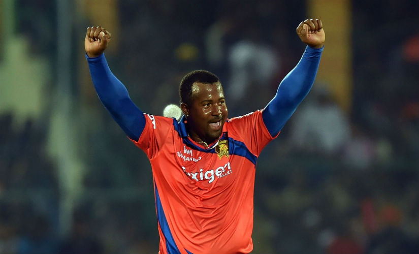 Gujarat Lions' Dwayne Smith destroyed KKR with figures of 4/8 in the last season of the IPL. AFP
