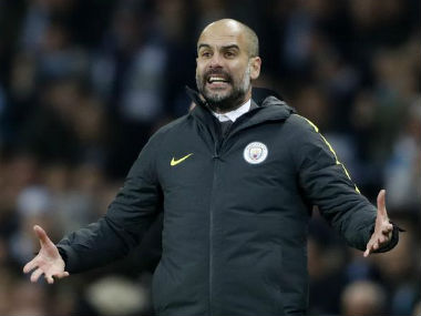 File photo of Pep Guardiola. Reuters