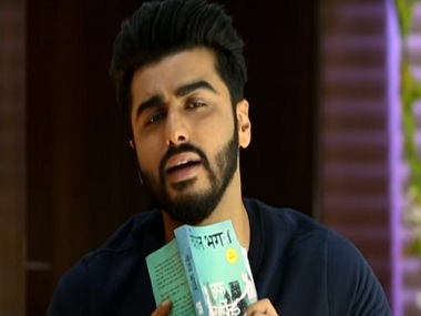 Arjun Kapoor in a still from Half Girlfriend teaser. YouTube