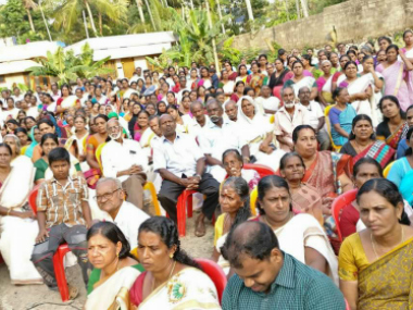 Haritha Keralam Mission volunteers attend a training programme. Photo courtesy: Govt of Kerala