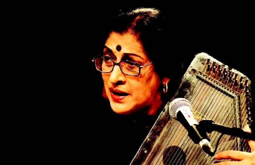Kishori Amonkar passed away on 3 April 2017. She was 84. Image courtesy: YouTube