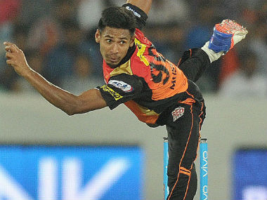 File photo of Mustafizur Rahman. AFP