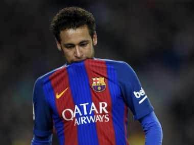 File photo of Neymar. AFP