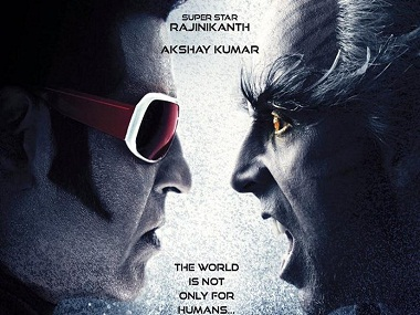 Rajinikanth and Akshay Kumar in first look of 2.0. Twitter