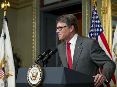 File photo of Rick Perry. AP