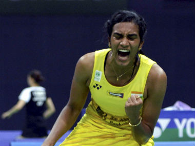 File picture of PV Sindhu. PTI