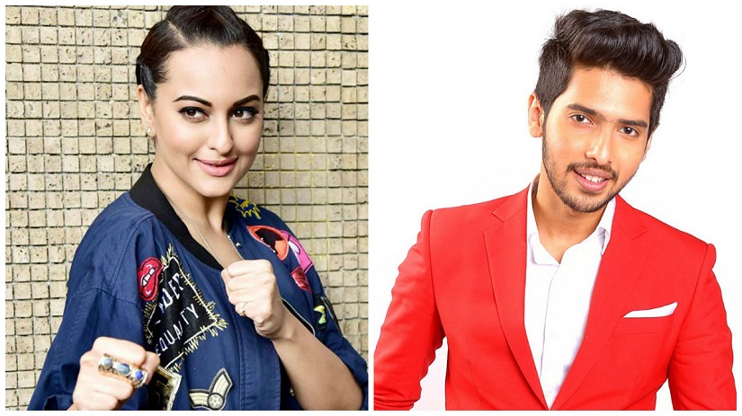 Sonakshi Sinha and Armaan Malik got into quite the Twitter exchange over the actress' reported inclusion in the performance roster for the upcoming Justin Bieber concert in Mumbai. Photos: News 18/YouTube
