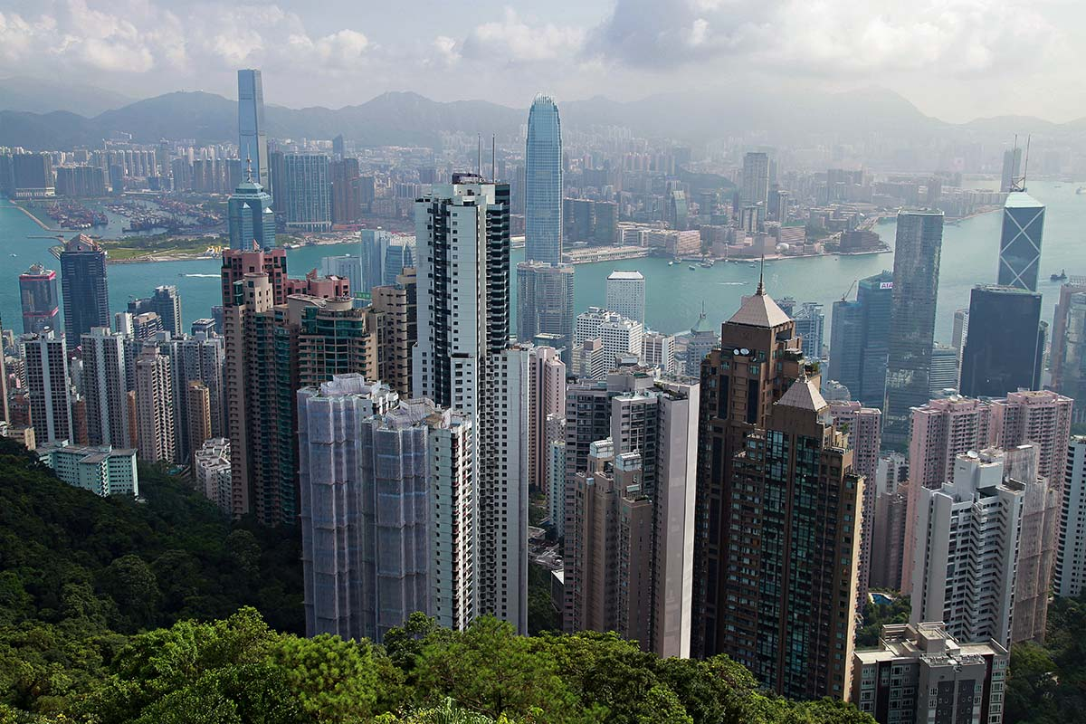 how to get victoria peak hong kong
