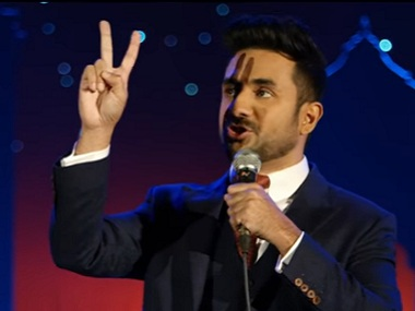 A still from Vir Das's Abroad Understanding. Image via Youtube.