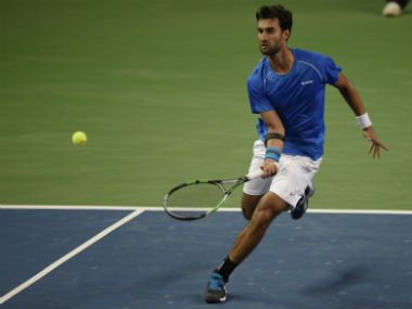 File photo of Yuki Bhambri. AFP