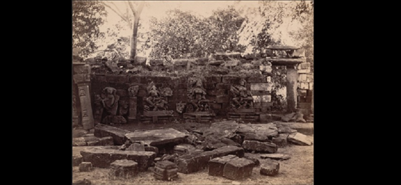 Ruins of Chausath Yogini temple destroyed by Aurangzeb