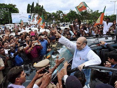 File image of Amit Shah.PTI