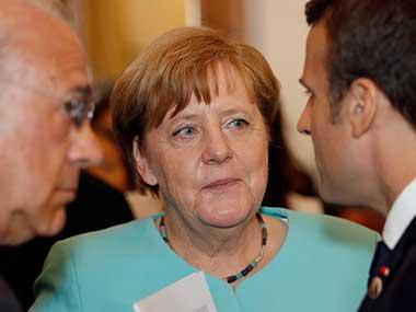 File photo of German Chancellor Angela Merkel. AP