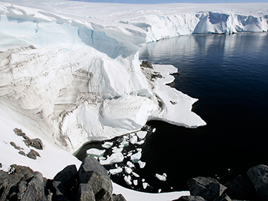 File image of Antarctica. Reuters