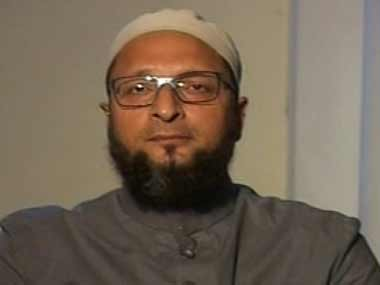 File image of Owaisi. News18