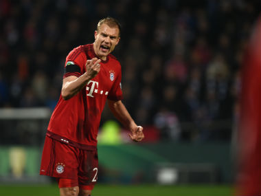File photo of Holgar Badstuber. AFP