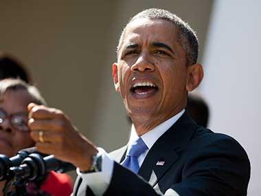 Former US President Barack Obama. AP