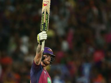 Ben Stokes brought up his maiden T20 century in 61 deliveries. Sportzpics