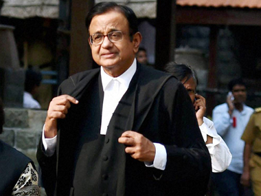File image of former finance minister P Chidambaram PTI