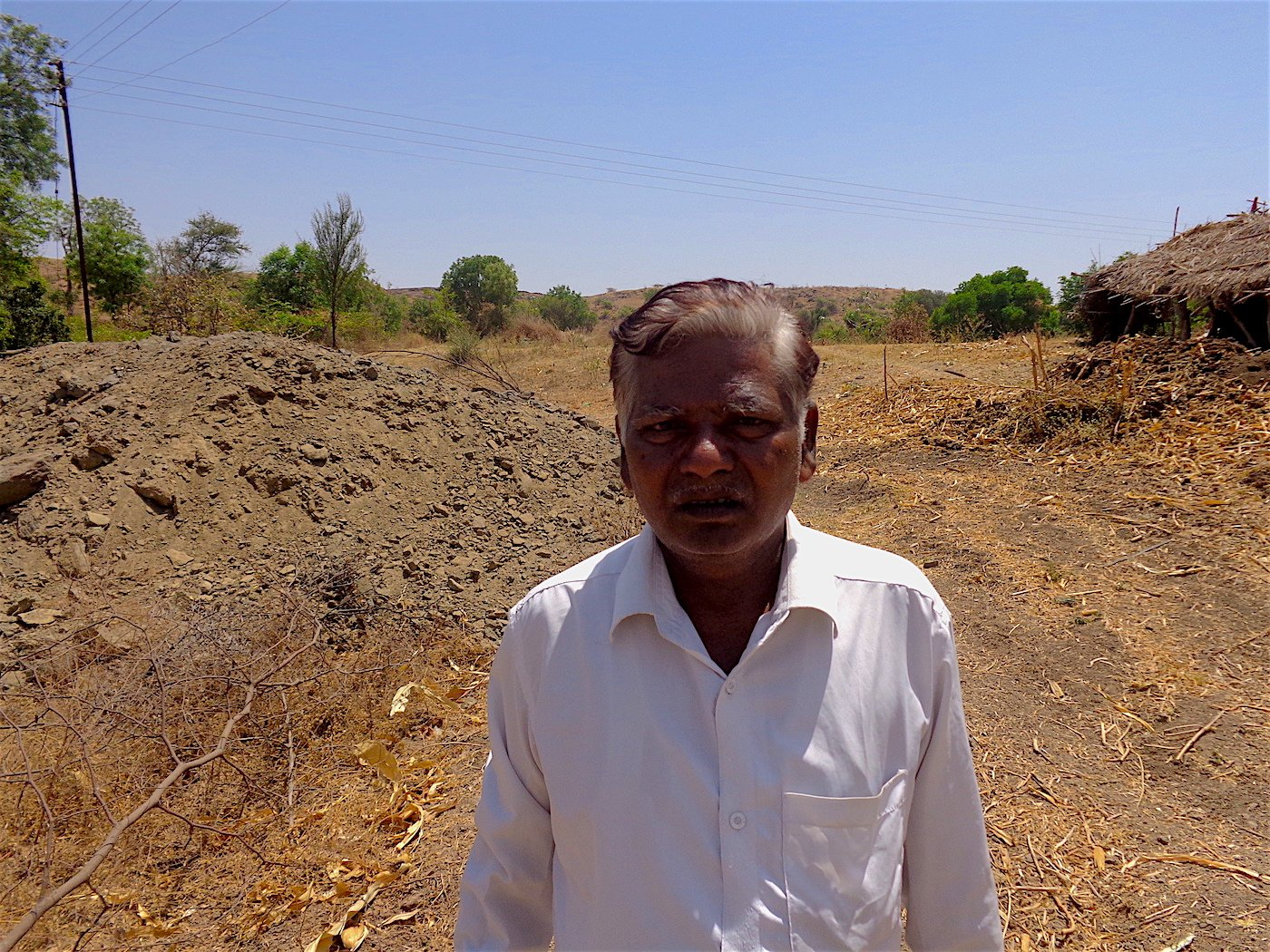 Karbhari Ramrao Jadhav: 'A powerless farmer cannot afford to take on the administration'. Parth MN