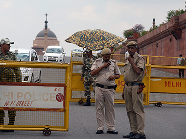File image of Delhi Police. AFP